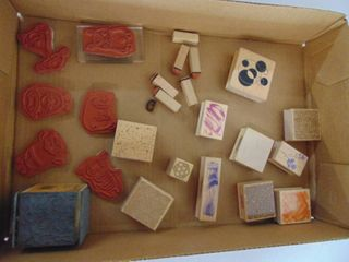 Miscellaneous Rubber Stamp lot 20