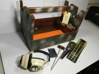 Hand crafted gun cleaning set