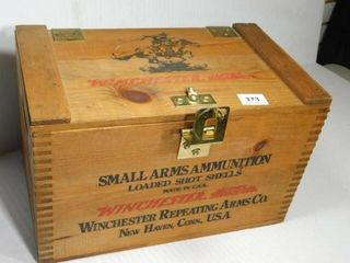 Winchester Wood Ammo Box