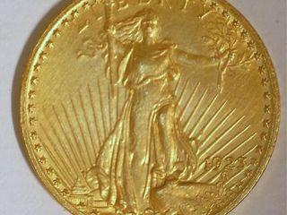 Saint Gaudens 1923 US Double Eagle  20 Gold Coin