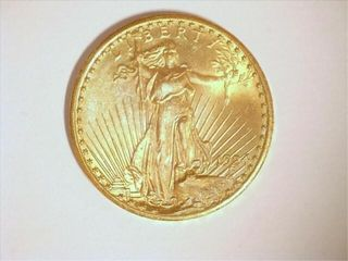 Saint Gaudens 1924 US Double Eagle  20 Gold Coin
