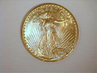 Saint Gaudens 1927 US Double Eagle  20 Gold Coin