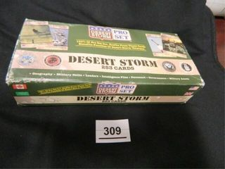 Desert Storm Pro Set Collector s Cards