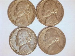 1950 s Jefferson Nickels  1952 1  1953 2