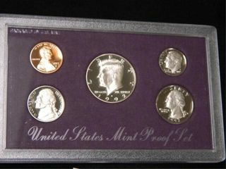 1992 US Mint Proof Set