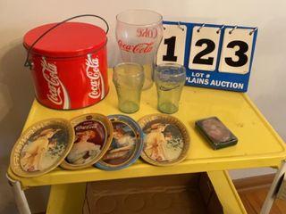lot of Coca Cola Items