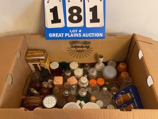 lot of Assorted Salt and Pepper Shakers
