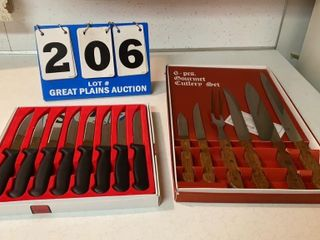lot of 2 Knife Sets