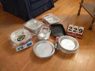 Aluminum Pie Pans  8x8 Pans  Round Cake Pan