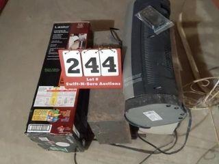 3 Floor Heaters