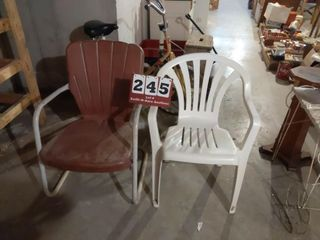 2 Outdoor Yard Chairs