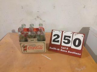limited Edition 1899 Coca Cola Glass Bottles