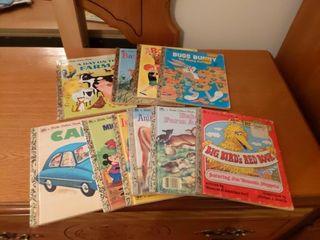 Box of Children s Books and Coloring Books
