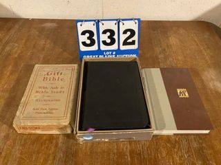 lot of Bibles and Books
