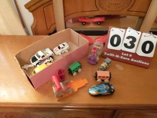 lot of Toy Cars and Trains