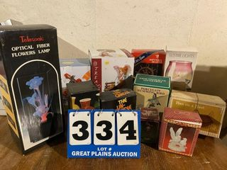 lot of lights  Collectibles and Candles