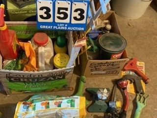 lot of Assorted lawn and Garden Items