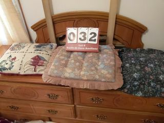 lot of Pillows and Seat Pads