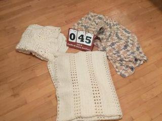 3 Crocheted Items