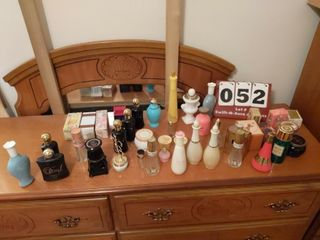 lot of Empty Avon Bottles and Boxes