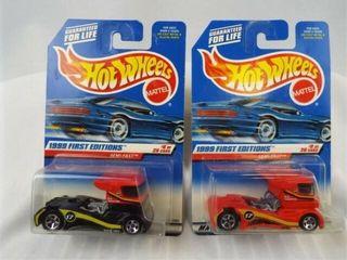 Hot Wheels 1998 Semi Fast 1st Editions  2