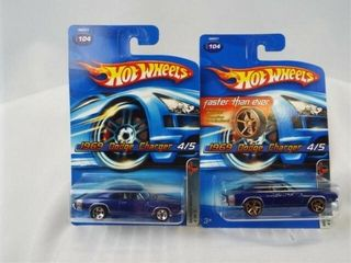 Hot Wheels 2005 Dodge Chargers  2
