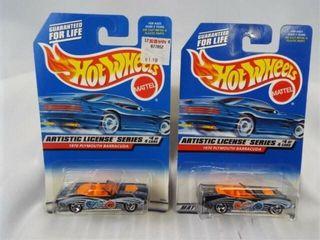 Hot Wheels 1997 Plymouth Barracuda  2
