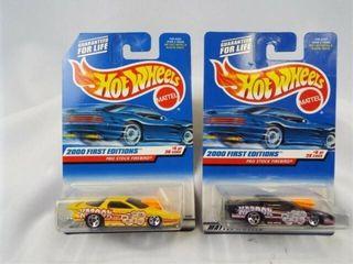 Hot Wheels 1999 Firebird First Editions  2