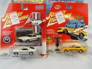 Johnny lightning Vehicles in package  6