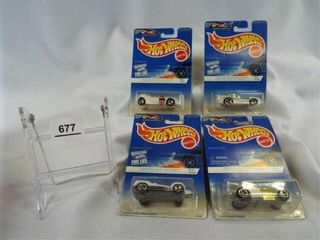 Hot Wheels 1996  White Ice Series Set  4