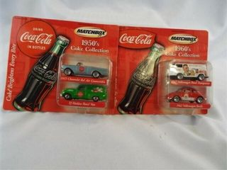 Matchbox Coca Cola Collection 2001  2