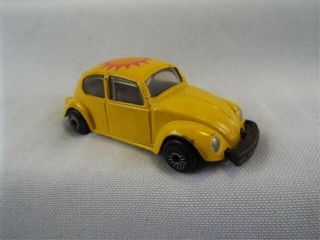 Zee Yellow Volkswagon Bug  Diecast