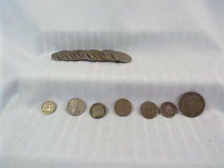 Central  South America Coins  1900 s Era  20