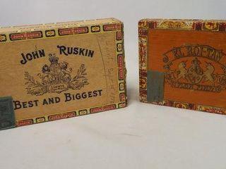 Cigar Boxes   Roi Tan  Ruskin  2