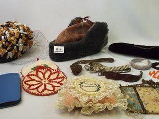 Hats  Jewelry  Purse  Brush