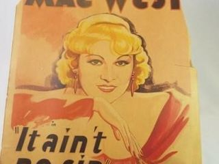Mae West Paramount Poster
