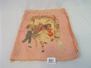 Handmade Children s Book on Cotton