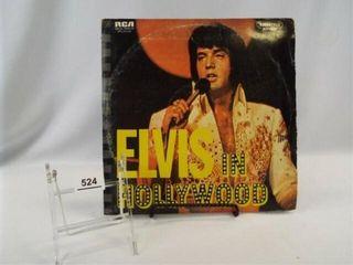 Record  Elvis Presley  with Photo Album