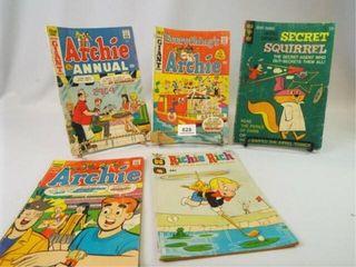 Comic Books  Harvey  Archie  Gold Key  5