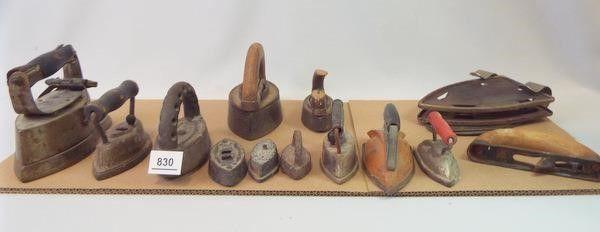Cast Iron  Tin Irons  Holders  10