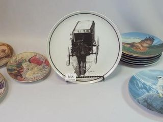 Decorative Plates   Birds  Cats  Amish