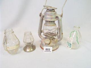 lantern  lamp Pieces  Pyrex Baby Bottle