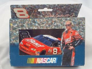 Nascar Earnhardt Jr Playing Cards in Tin