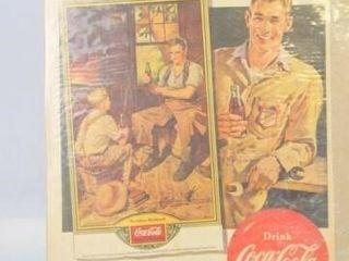1951 Coca Cola Advertising  13 x 10
