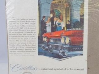 1959 Cadillac Advertising  10 x 7