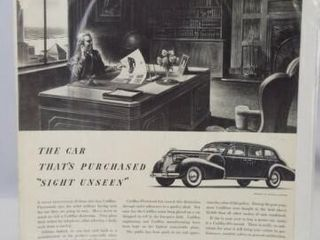 Cadillac Fleetwood Advertising  14 x 11