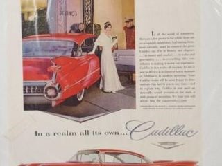 Cadillac Advertising  13 x 10