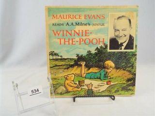Record  Winnie the Pooh  M  Evans
