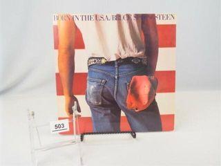 Record Album  Bruce Springsteen