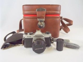 Pentax K1000 Camera with Case